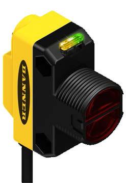 美國邦納(BANNER)QS18系列傳感器