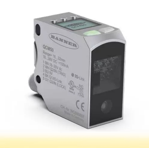 美國邦納(BANNER)QCM50系列顏色傳感器?